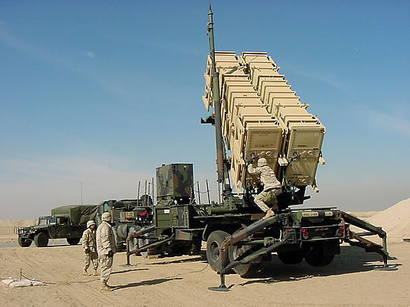Syria - Weapons - Patriot Missile 2 - Trend - 15-1-2013