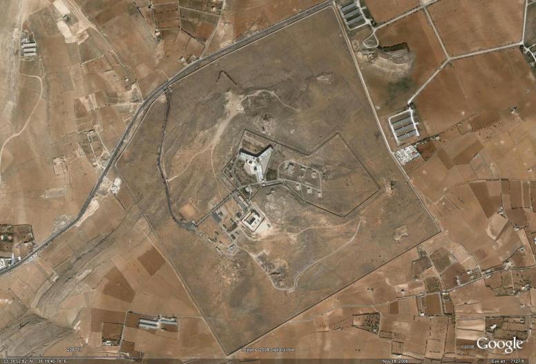 Syria - Prisons - Saydnaya Prison - Zoomed Out