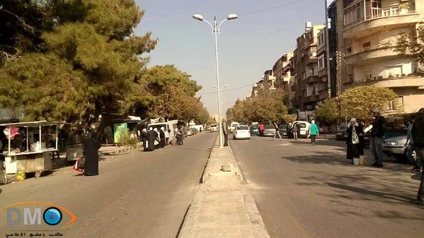 Syria, Damascus street today – no males | YALLA SOURIYA